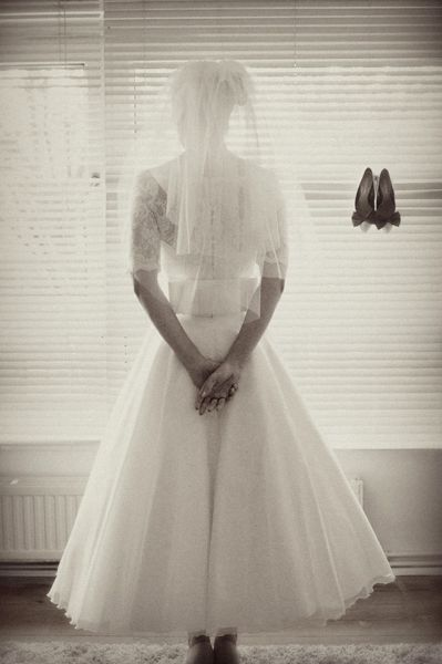 50s style wedding gown I love this style it's the style I would like to wear if I get married