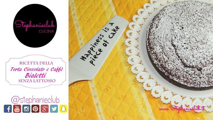 Torta Cioccolato e Caffè Bialetti | senza lattosio | stephanieclub
