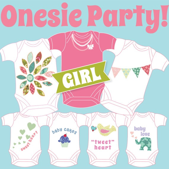 17+ Best Images About Baby Shower Applique Girl On