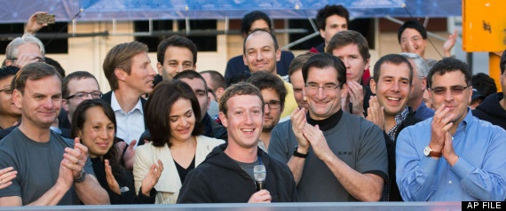 Facebook IPO: Two Top Financial Regulators To Review Issues Surrounding Initial Public Offering  - I wonder how long they'll keep smiling?