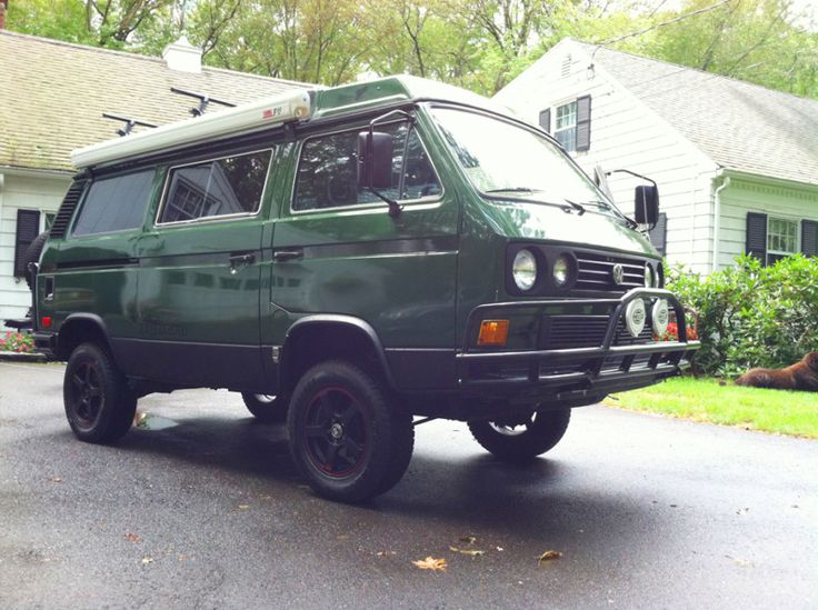 Luxury  An Old School Rehabbed Vanagon Syncro Vanagon Cars Ws Vw Vanagon