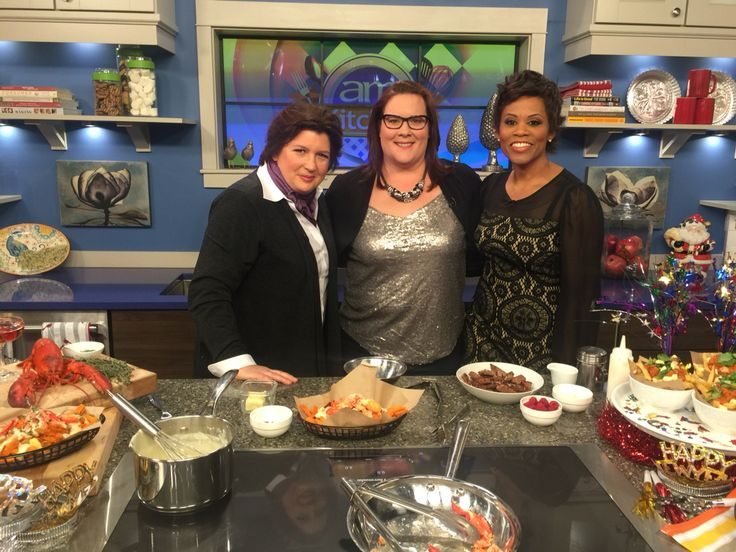 Fun on Canada AM today with Chef Lynn Crawford!