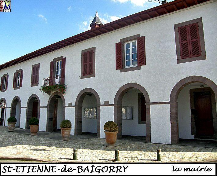 Saint Etienne De Baigorry    la mairie