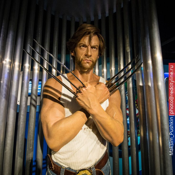 Wolverine. Madame Tussaud's London | Росомаха. Музей восковых фигур мадам Тюссо  #redcityline #london #uk