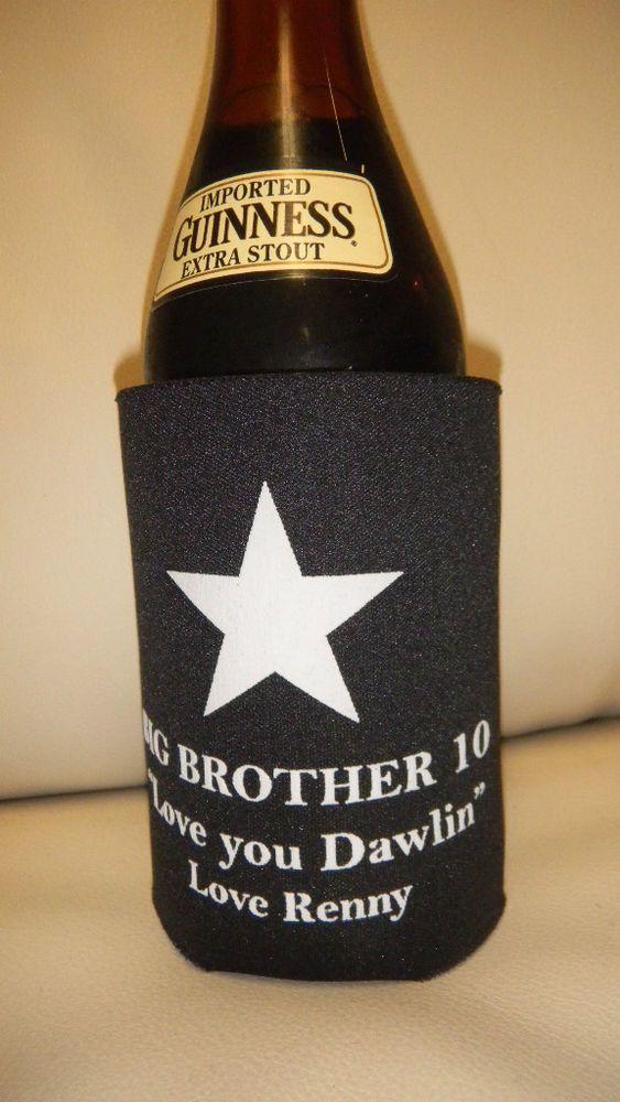 CBS Big Brother 10 Renny Martyn Koozie, Enjoy your favorite beverage hot or cold