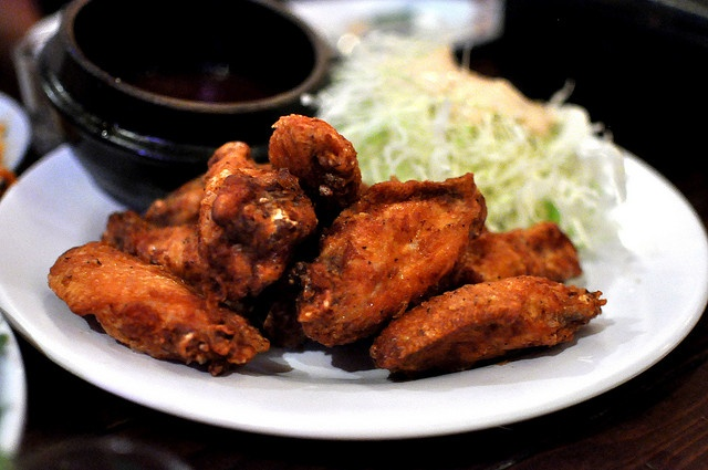 """Spicy Hawaiian Chicken Wings   """" I no longer eat meat.But when I did & lived in Hawaii I was addicted to these.This recipe comes from Hawaiian Electric Co. cookbook.Truly authentic!"""""""