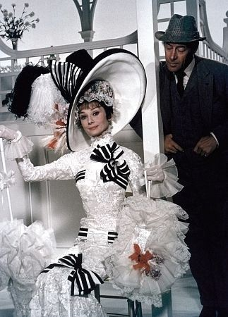 """Black and white at the track in """"My Fair Lady""""."""