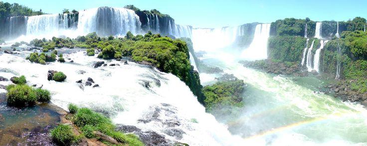 Iguazu Falls, Argentina/Brasil Border