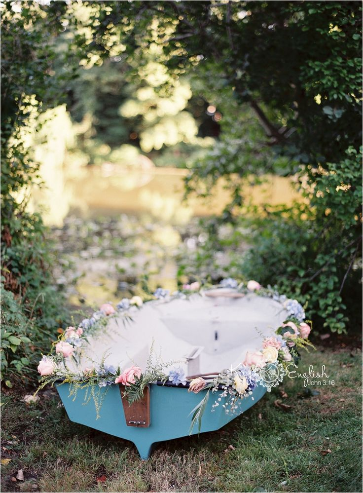 Little Mermaid and Monet inspired wedding shoot, Shrewsbury, New Jersey » New Jersey Wedding Photographer – Kay English Photography