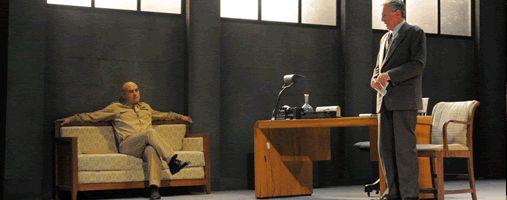 La Torre d'avorio: dal 28 Gennaio 2014 al 2 Febbraio 2014 Sede: Teatro Donizetti di Ronald Harwood con Luca Zingaretti e Massimo De Francovich http://www.teatrodonizetti.it/DoniEditorial/newsCategoryViewProcess.jsp?editorialID=3923
