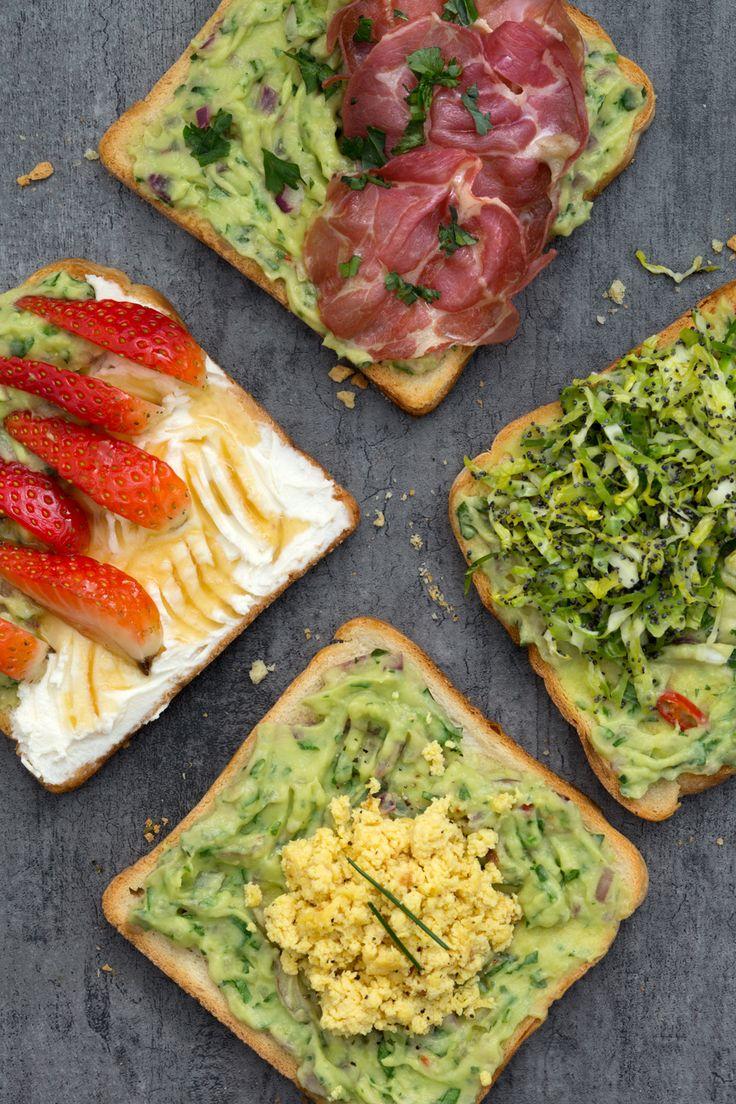 Avocado toast: dolce o salato? Scegli le tue versioni preferite e il tuo brunch sarà perfetto!