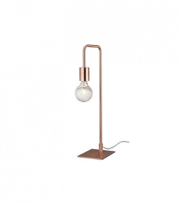 CB2 Copper Arc Table Lamp ($70)