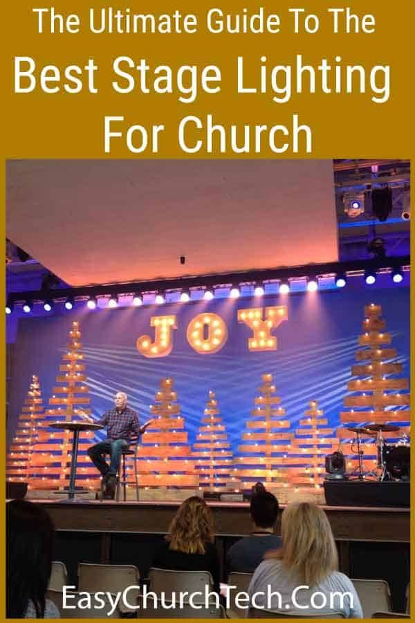 Stage Lighting For Church