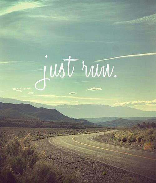 run. my first thought when I wake up. I'm ready to get back at it!!! COME ON foot!