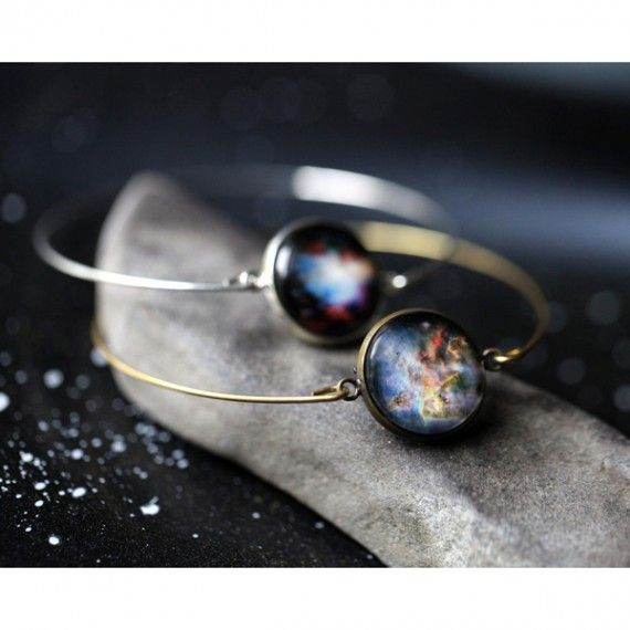 Galaxy Cuff Bracelet - Choose Your Space Design