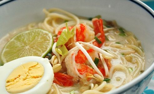 traditional noodle recipe from Sumatra Indonesia