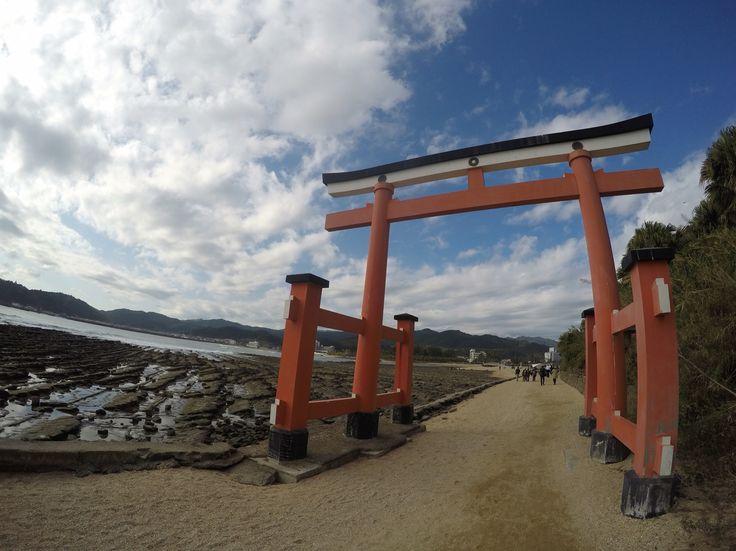 the Aoshima shrine