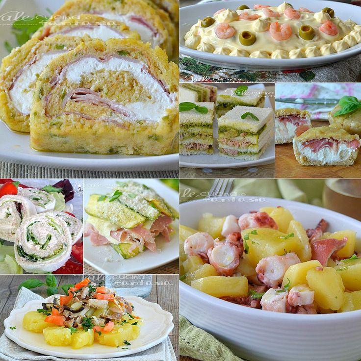 Antipasti freddi ricette facili e veloci, tante ricette facili,senza cottura, oppure con cottura ma da gustare fredde, antipasti estivi veloci e sfiziosi