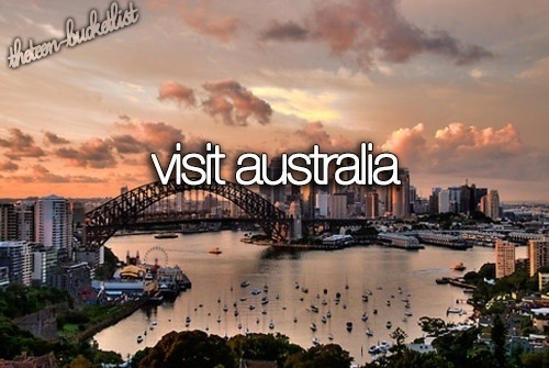 And have an Aussie accent.