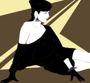"""Mirad una ejemplo: un artista (tocayo) muy reconocido y reconocible de una época es PATRICK NAGEL, su obra:""""SÍNTESIS"""" es la síntesis de la síntesis, la síntesis de una época.    """"Estas hermosas geishas Art Decó / POP,  marcan perfectamente la década de los 80s: Moda, colores, peinados, accesorios. Su mutismo, estaticidad,  incluso frivolidad… un submundo. Siempre me intrigó la capacidad de Nagel para despojarse de 'las cosas que están de más'."""