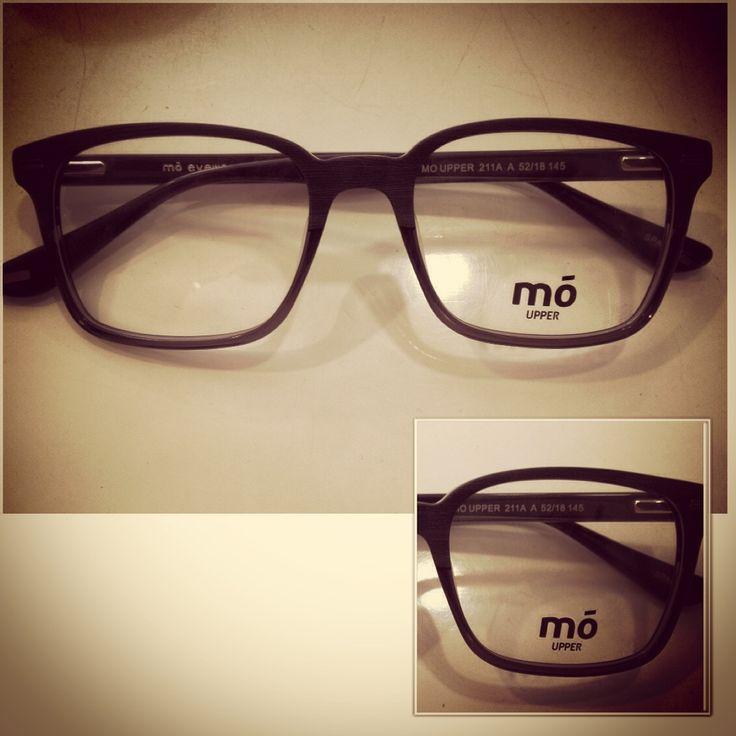Montura en acetato negra mó eyewear