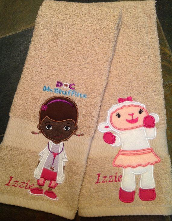 Doc McStuffins Hand Towel Set  one of Lambie and one of Doc  via Etsy. Best 25  Doc mcstuffins bedroom set ideas on Pinterest   Doc