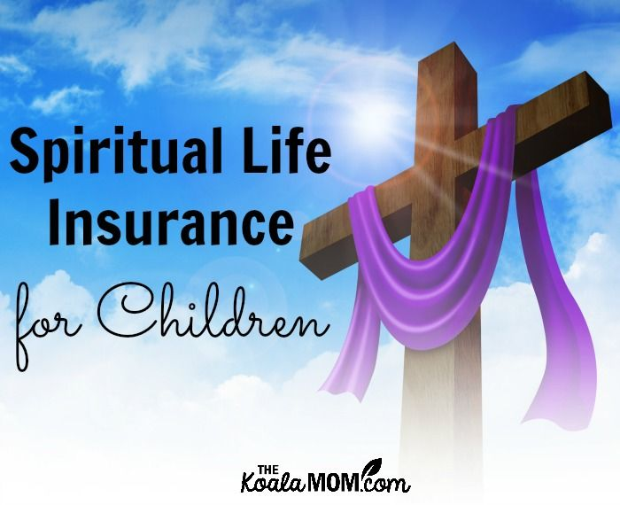 Sarah, a mom of six, shares how the traditions of Easter provide spiritual life insurance for our children by bringing joy to their practice of the faith.