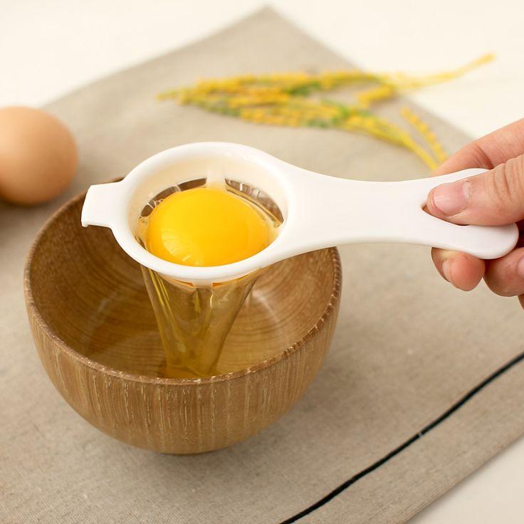 Darmowa Wysyłka Ekologiczny Dobrej Jakości Przegroda Jaja Żółtko Biały Separator Egg Narzędzia PP Materiał Spożywczy