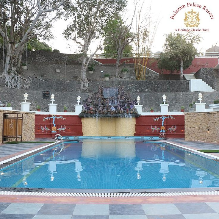 Now, you can splash around in the cool waters surrounded by gorgeous Aravalli mountain ranges, at the newly-inaugurated swimming pool at #BalaramPalaceResort. Come and cool off in the summer at our #HeritageHotel.