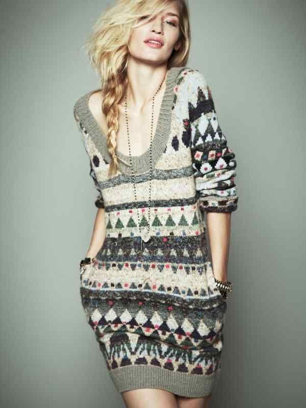 71 best knitted dresses for girls images on Pinterest | Crochet ...