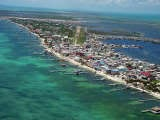 San Pedro Town on the island of Ambergris Caye, Belize