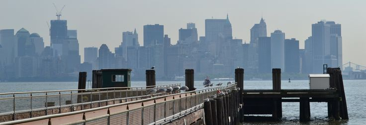 #Photograph - A view of #Manhattan from #Liberty island's pier, #NewYork #USA by Chiara Villata on #500px