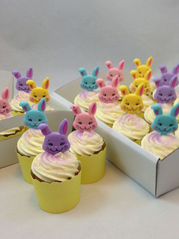 Easter Bunny Cupcake Kit. Click here http://www.icingonthecakekits.com/item_138/Easter-Bunny-Cupcake-Kit.htm $39.95