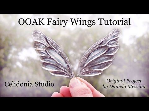 Fairy Wings/ Asas de fada - Tutorial - YouTube