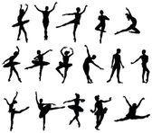 Ballet dancer — Stock Illustration #9219710