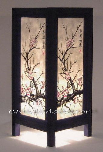 ASIAN ORIENTAL ROOM DECOR LAMP LIGHTING - CHERRY BLOSSOM TREE - SINCE 2006 | eBay
