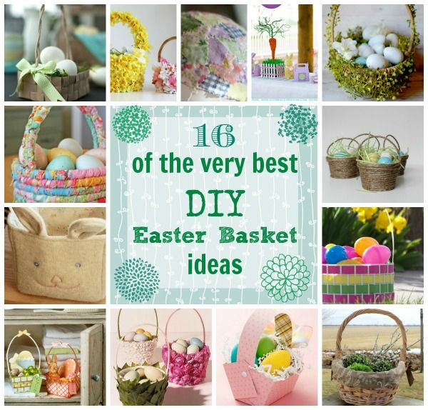 63 best easter baskets boxes bags images on pinterest easter the creek line house 16 of the very best diy easter basket ideas negle Choice Image