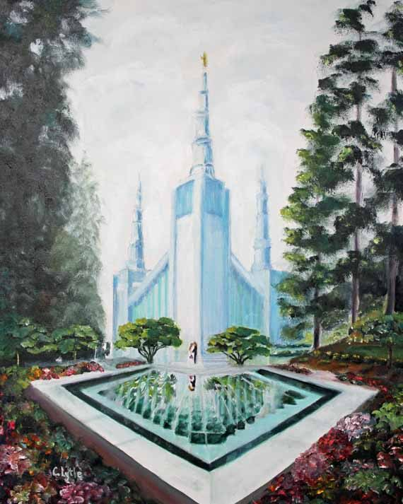 Portland Temple,Landscape Painting,Oil Painting,Original Art,LDS Temple,Prints, Giclee, Fine Art, Oil on Canvas,LDS Art,Painting,Home Decor by Lytlebitartisitic on Etsy