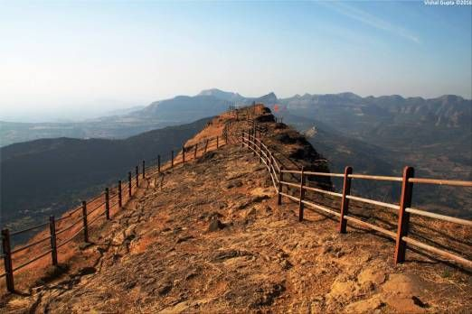 Raigad Fort - Tak Mak Point