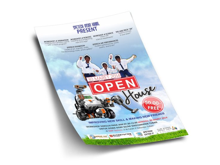 60 best FLYER and BROCHURES images on Pinterest Brochures - free open house flyers