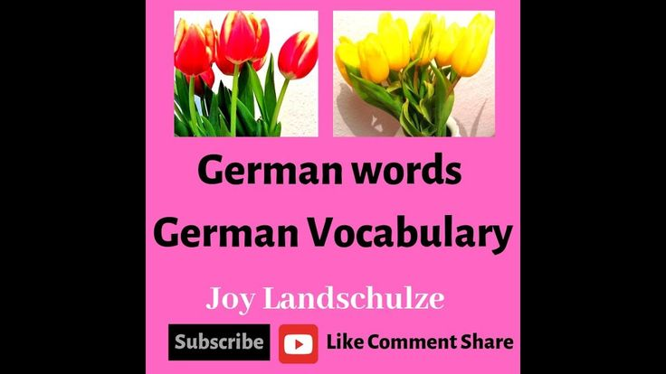 Learn German Vocabulary | Learn German | Love | Valentine's day 2019 | English Deutsch | #learnerman #germanlanguage #germanvocabulary #german