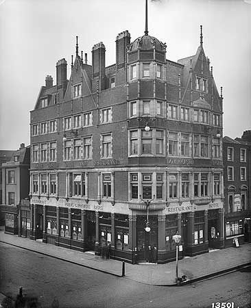 Dover Castle Hotel, 170 Westminster Bridge Road, Lambeth, Mar 1896