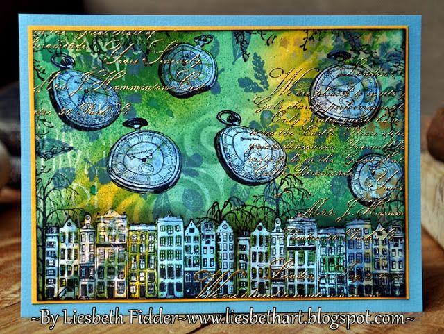 Liesbeth's Arts & Crafts: Art Journey challenge 71: Travel