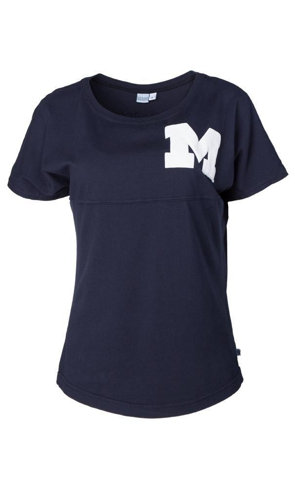 Official NCAA University of Michigan Wolverines U of M THE VICTORS! Women's Short Sleeve Spirit Wear Jersey T-Shirt