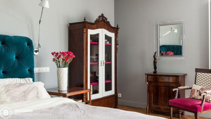 #interior #old&new #nelecstudio #bedroom fot.NELEC STUDIO