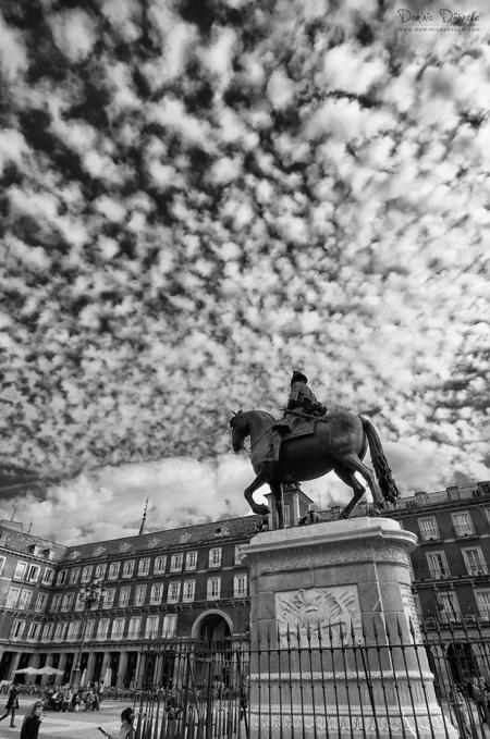 Un techo mágico (Plaza Mayor, Madrid)