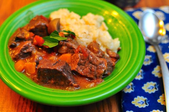 Dad Cooks Dinner: Pressure Cooker Beef Stew with Mushrooms