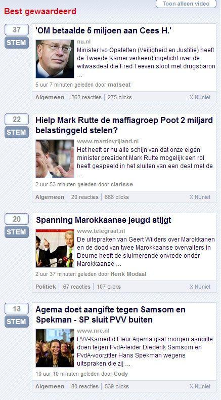 Als er een deal gesloten is tussen de Nederlandse staat en de familie Poot en de betrokkenheid van mensen als Mark Rutte komt aan het licht, dan valt het kabinet en moet er echt een grote schoonmaa...