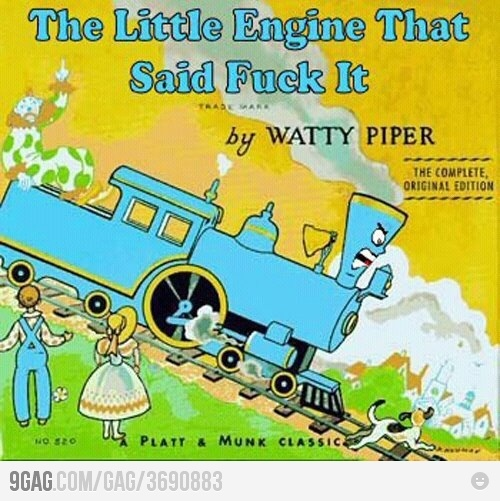 My train of fucks went that-a-way!: Bedtime Stories, Childhood Books, Funny Pics, The Real, Funny Pictures, Funny Stuff, Funny Photos, Children Books, Kid