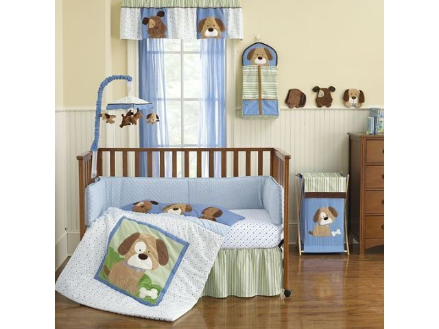 Puppy Theme Nursery Babies Baby Bedding Sets Baby